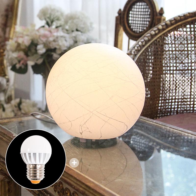 보름달 입체 무드등 (LED 전구 증정)