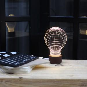 LED 아크릴 전구 무드등