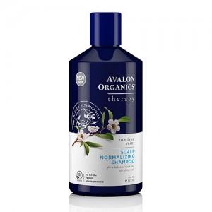 [Avalon Organics] 유기농 테라피 샴푸 - 티트리민트 (지성,비듬관리)