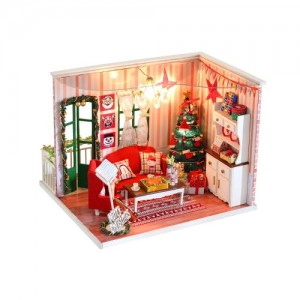 [adico] DIY 미니어처 하우스 - 크리스마스 데이트