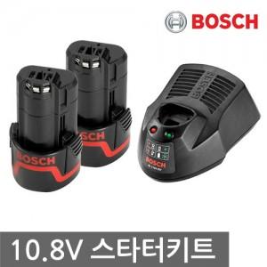 [보쉬] 10.8V 2.0Ah 스타터키트 배터리2+충전기
