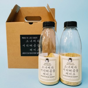 소녀제과 국산 서리태콩물 쉐이크