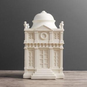 멋스런 화이트 궁전 조각상 1개