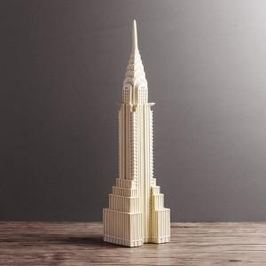 멋스런 크라이슬러빌딩 조각상1개
