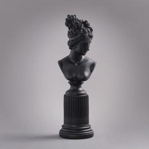 빈티지 그리스 여신 조각상 1개