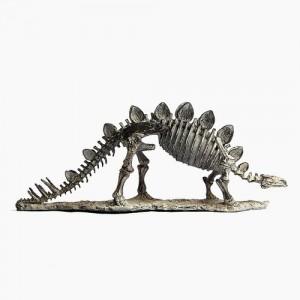 빈티지 공룡뼈 스테 조각상 1개