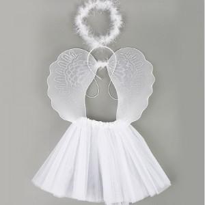 [오키즈] [J0939] 할로윈 용품 [천사날개 드레스 세트 3] 코스튬 파티용품