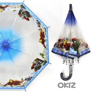 [오키즈] [I0424] 어벤저스 40 우산 [스피드파워POE-UM07] 아동 유아 장마
