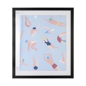 LB Icebergs Framed Art 60X71