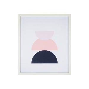 LB Retro Abstract 3 Framed Art 60X71