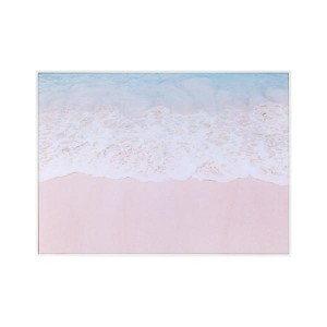 LB Ocean Meets Beach Framed Canvas 66X90