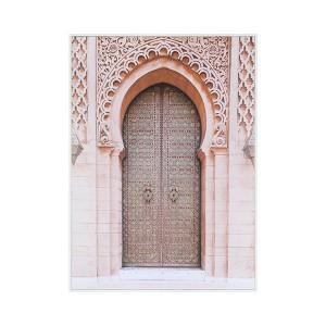 LB Arch Door Spice Framed Canvas 66X90