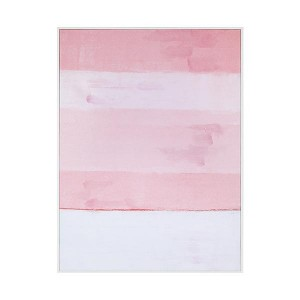 LB Shades of Pink Framed Canvas 84X111