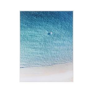 LB Morning Swimmer Framed Canvas 84X111