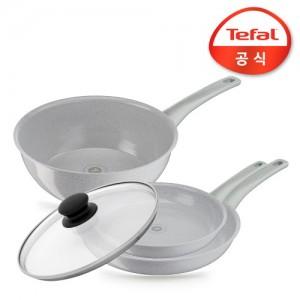 테팔 프리저브 인덕션 4종세트(후라이팬24cm+28cm+볶음팬28cm+유리뚜껑)