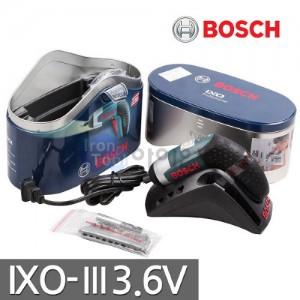 보쉬 충전스크류드라이버 IXO-III 3.6V IXO3