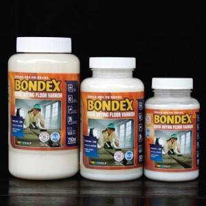 [더페인트샵] BONDEX FLOOR 본덱스 퀵드라잉 PU바니쉬 500ML