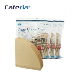 Caferia 커피 여과지 V샵2(300매)-CF2 [커피필터/거름종이/핸드드립/드립용품/커피용품]