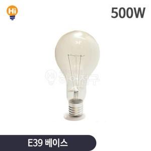 500W 백열전구 E39 114395
