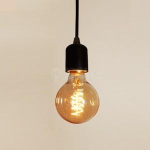 빈티지 디자인 백열전구 60W G125 E26 114412