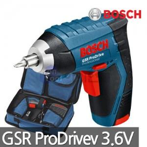 [보쉬] 충전스크류드라이버 GSR Prodrive 3.6V