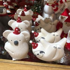 애프터눈티 크리스마스 포레 포레 2종택1 (코알라,나무늘보)