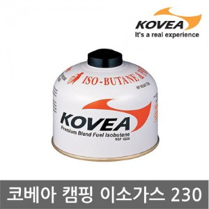 AA 코베아 캠핑 이소가스 230g (KGF-0230) 부탄가스