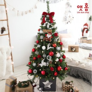 앳홈 레드베이 크리스마스 트리 / 1.6m