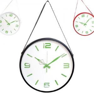 [골든벨시계] 고급 인덱스 메탈 무소음 벽시계 36.5cm Green 국내제조 (3종)