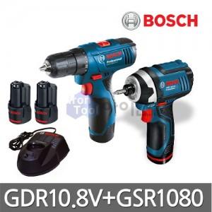 [보쉬] 충전콤보세트1 GDR10.8V-LI+GSR1080-2-LI