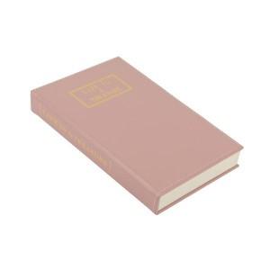WP 핑크가죽 보석 정리박스 BOOK