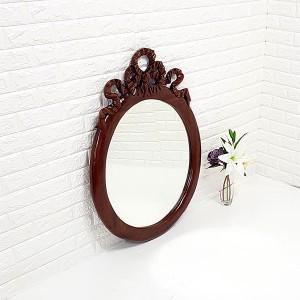 엔틱가구 리본 거울 엔틱벽거울
