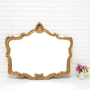 엔틱가구 아로아나 금장 거울 엔틱벽거울