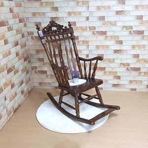 엔틱가구 흔들의자 엔틱체어 안락의자 인테리어의자