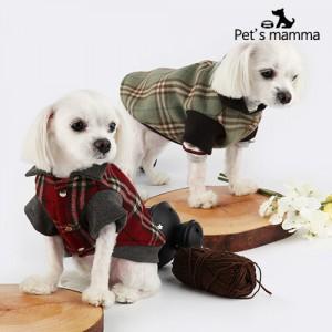 [펫츠맘마] 강아지옷 모직코트