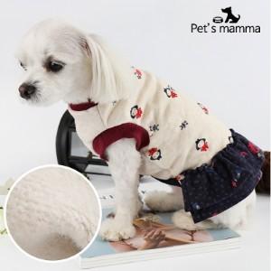 [펫츠맘마] 강아지옷 원피스-소녀와 곰돌이