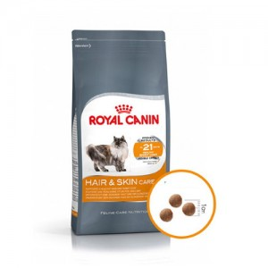 로얄캐닌 헤어&스킨 케어 10kg 피모발달 고양이사료