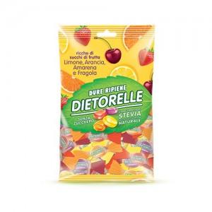 [디에토렐레] 캔디 (레몬,딸기,오렌지,체리) 140g
