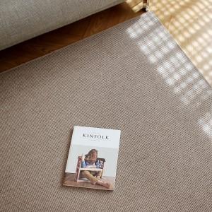 리브 네덜란드산 퓨어 울 사이잘룩 러그/카페트 5color (160x240cm) 거실 식탁밑 사계절