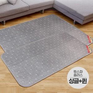 일월 2019 투스파플러스 온수매트 싱글+더블세트/일월온수매트 전기요 일월매트 전기매트 전기장판