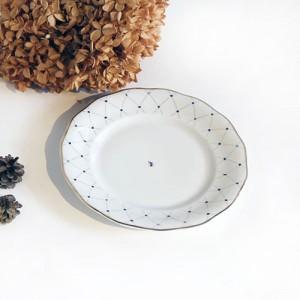 알라스카 블루골드 접시 小 2P
