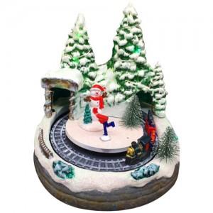 [adico] 크리스마스 미니어처 빌리지 - 케이브 트레인