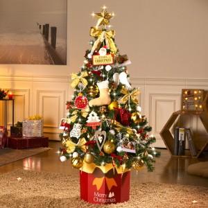 하우쎈스 크리스마스트리 골드(1.4M) 풀세트
