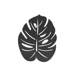 HY2 마도바 야자잎 테이블매트 매트블랙