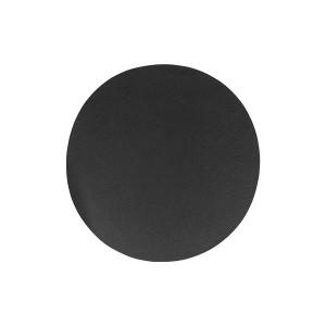 HY2 마도바 레더터치 라운드 테이블매트 블랙