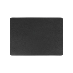 HY2 마도바 레더터치 사각 테이블매트 블랙