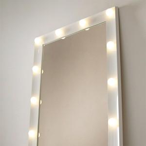 1W LED 초절전 카리스마 화이트 전신 조명거울(소,중형)