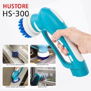 휴스톰 무선 핸디형 오토스핀 욕실청소기 HS-300