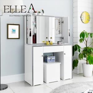 엘레아 비비아 화장대 B형 + 수납 스툴