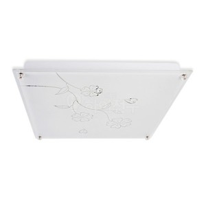포커스 LED 방등 구절초 사각 유리 50W 114570